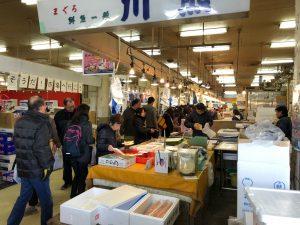 浦安魚市場 場内の様子